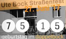 Ute Bock feiert Geburtstag mit großem Straßenfest