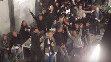 Vor G20-Gipfel: Berliner Polizisten machen Party
