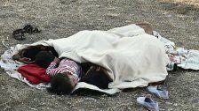 Beben auf Kos: Menschen schliefen im Freien