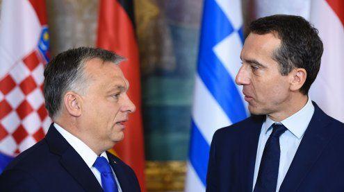 Ungarn kündigt härtere Gangart gegenüber Österreich an