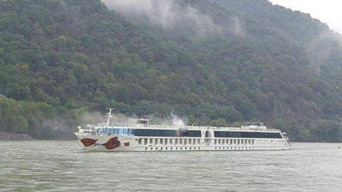 Neuer Donau-Alarm-Plan: Bei Schiffsbrand in Wachau bewährt