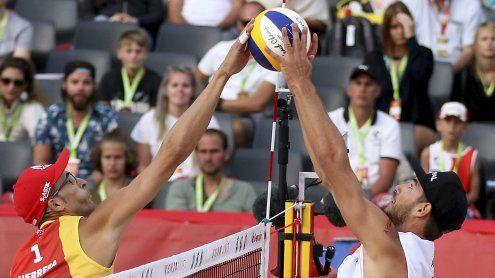 Debütanten Ermacora/Pristauz unterlagen Ex-Europameistern