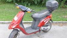 Überfall auf Wettlokal : Moped sichergestellt