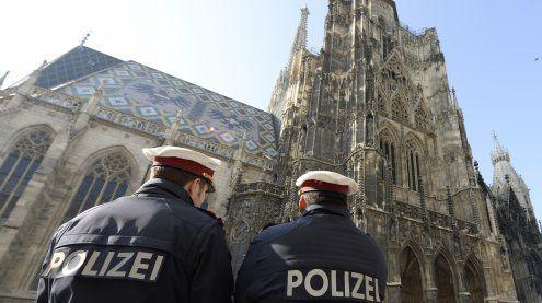 Mehr Polizisten im Einsatz als für Wien eigentlich vorgesehen sind