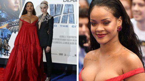 Valerian-Premiere: Rihanna zieht wieder einmal alle Blicke auf sich