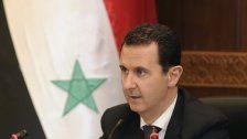 Keine Zusammenarbeit von Assad mit Westen