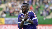 Jetzt ist es fix: Kayode verlässt Austria Wien