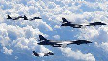 USA, China und Russland: Manöver nahe Nordkorea