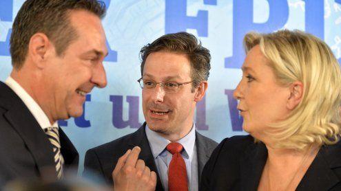 Von Strache bis Le Pen: Europas Rechte jubeln über AfD-Erfolg
