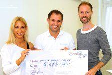 schönheit2go spendet für Dancer against Cancer
