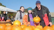 Am Himmel: Kürbisfest und Kürbisbauernmarkt