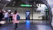 Gewista baut City Lights in U-Bahnstationen aus