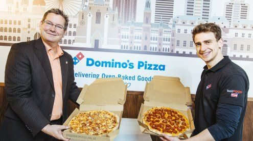 Domino's Pizza eröffnete die erste Filiale in Wien-Floridsdorf