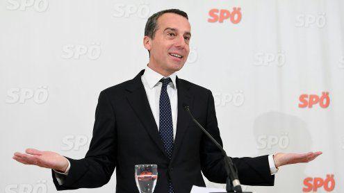Gehaltserhöhung für Kern: Salär wird nun von der SPÖ aufgefettet