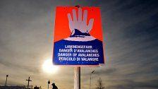 Meteorologen warnen vor Orkanböen bis 150 km/h