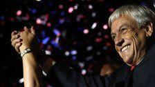 Pinera gewann Präsidentenwahl in Chile