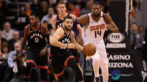 Toronto beendete Auswärts-Trip in NBA mit 115:109 in Phoenix