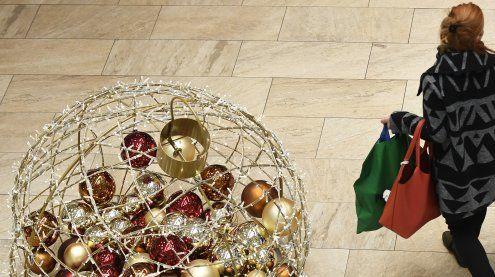 """Einkaufssamstag: """"Die Leute sind in Weihnachtsstimmung"""""""
