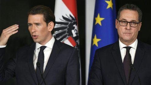 Regierung: ÖVP und FPÖ bemüht Vorbehalten entgegenzuwirken