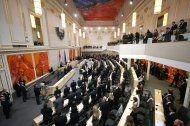 Neue Parlamentarier rücken durch neue Regierung nach