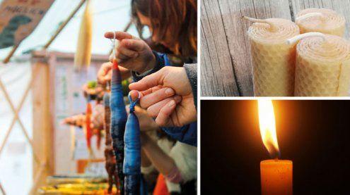 Kerzenziehen in Wien: Geschenk- und Bastelidee für Weihnachten