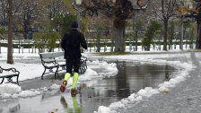 Kälteeinbruch am Wochenende in Wien