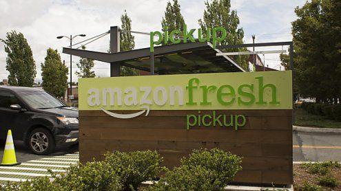 1. Amazon-Supermarkt geöffnet