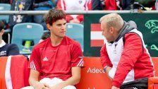 Bresnik: Thiem soll Davis-Cup nicht spielen