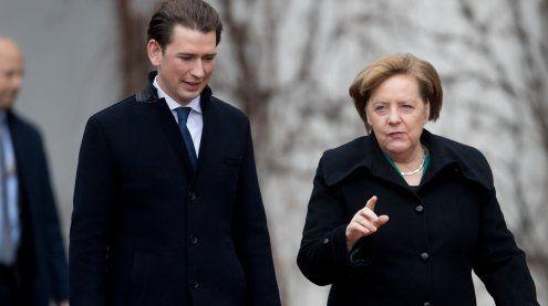 Merkel ist über FPÖ-Einfluss auf westliche Geheimdienste besorgt