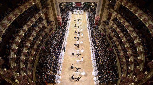 Erste schwarz-blaue Regierung sorgte für Wirbel am Opernball
