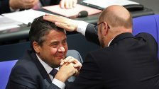 Schulz nahm Gabriels Entschuldigung an