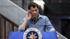Duterte: Palastverbot für kritische Reporter