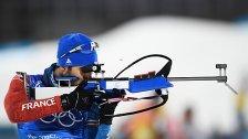 Fourcade führte Biathleten zu Mixed-Gold