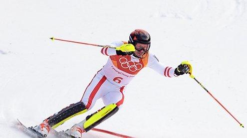 Österreich im Teambewerb gegen Südkorea und dann Schweden