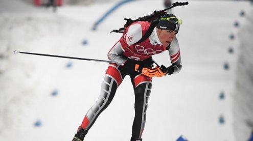 AUT-Biathlon-Herren auf Platz 4