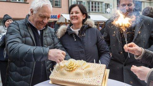 Liste Fritz: Start ins Wahlkampf-Finale mit Geburtstagsfeier