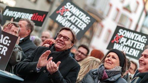 "ÖVP Tirol: Platter will ""weder linke noch rechte Spinner"""