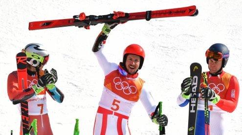 Marcel Hirscher ist nach Triumph im RTL Doppel-Olympiasieger
