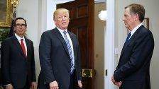 Autos: Trump droht EU erneut mit höheren Zöllen