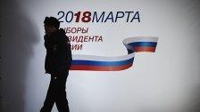 Putin errang klaren Sieg bei Präsidentenwahl