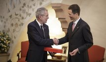 VdB lobt in Liechtenstein besondere Verbundenheit