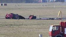 Absturz von Flugzeug der britischen Luftwaffe