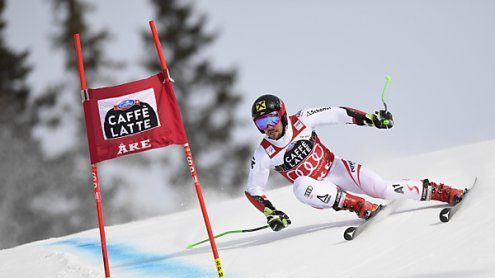 Hirscher gewinnt in Aare13. Saisonrennen