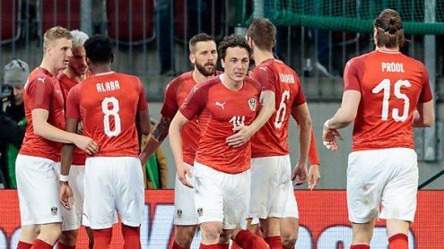 Starker Auftritt bescherte ÖFB-Team 3:0-Sieg gegen Slowenien