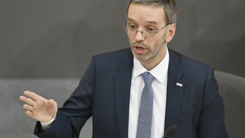 Innenminister Kickl beantwortet dringliche Anfrage zur BVT-Causa
