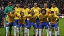 Brasilien absolviert WM-Testspiel in Wien