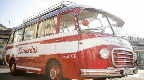 Bücherbus macht Halt in Wien