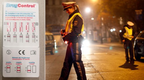 Suchtgiftlenker-Schwerpunkt:22 Führerschein-Abnahmen