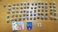 Dealer mit 214 Baggies Cannabis festgenommen