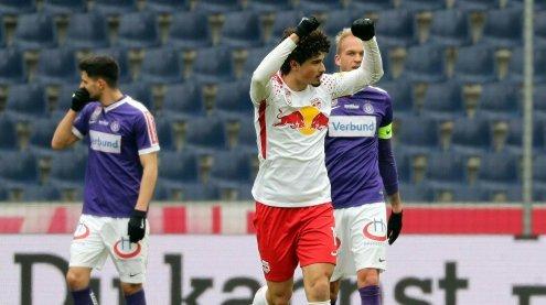 Verheerende Niederlage: Wiener Austria ist in Salzburg chancenlos